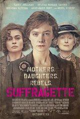 Suffragette Movie Poster