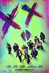 Suicide Squad 3D Movie Poster