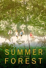 Summer in the Forest Large Poster