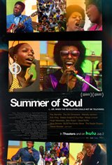Summer of Soul (...Or, When the Revolution Could Not Be Televised) Affiche de film