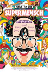 Supermensch: The Legend of Shep Gordon Movie Poster