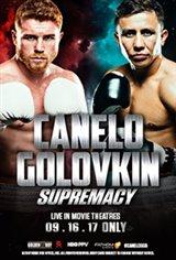 Supremacy: Canelo vs. Golovkin Movie Poster