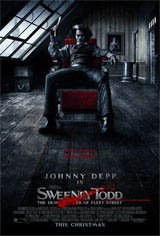 Sweeney Todd: The Demon Barber of Fleet Street Movie Poster