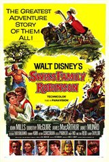 Swiss Family Robinson Large Poster