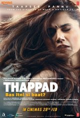 Thappad Movie Poster