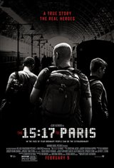 5. The 15:17 to Paris Movie Poster