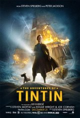 The Adventures of Tintin: An IMAX 3D Experience Movie Poster