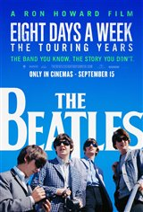 The Beatles: Eight Days a Week - The Touring Years (v.o.a.) Affiche de film