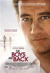 The Boys are Back (v.o.a.)  Movie Poster