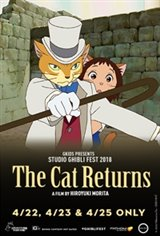 The Cat Returns - Studio Ghibli Fest 2018 Large Poster