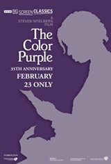 The Color Purple (1985) 35th Anniversary Movie Poster