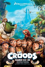 The Croods 3D Movie Poster