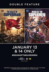 The Death of Superman / Reign of the Supermen Double Feature Affiche de film