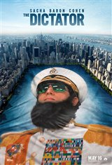 The Dictator Movie Poster Movie Poster