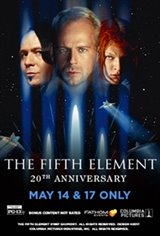 The Fifth Element 20th Anniversary Movie Poster