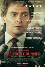 The Front Runner (v.o.a.) Affiche de film