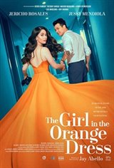 The Girl in the Orange Dress Large Poster