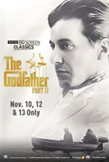 The Godfather: Part II 45th Anniversary (1974) presented by TCM Movie Poster