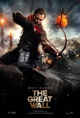 The Great Wall Movie Poster Movie Poster