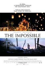 The Impossible Movie Poster Movie Poster