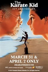The Karate Kid 35th Anniversary Large Poster