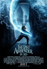 The Last Airbender in 3D Movie Poster