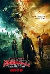 The Last Sharknado: It's About Time Affiche de film
