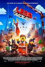 The Lego Movie 3D Movie Poster