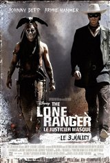 The Lone Ranger : Le justicier masqué Movie Poster