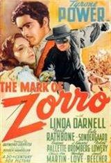 The Mark of Zorro (1940) Movie Poster