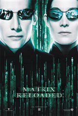 The Matrix Reloaded Large Poster