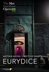 The Metropolitan Opera: Eurydice ENCORE Movie Poster