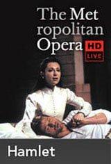 The Metropolitan Opera: Hamlet Movie Poster