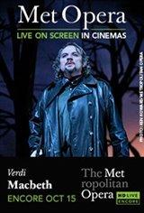 The Metropolitan Opera: Macbeth Encore Movie Poster