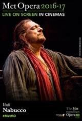 The Metropolitan Opera: Nabucco Movie Poster