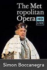 The Metropolitan Opera: Simon Boccanegra (Encore) Movie Poster