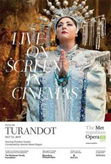 The Metropolitan Opera: Turandot (2019) - Live Movie Poster