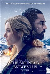 The Mountain Between Us Affiche de film