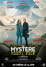 The Mystery of Henri Pick Movie Poster