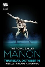 The Royal Ballet - Manon Movie Poster