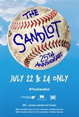The Sandlot 25th Anniversary Movie Poster
