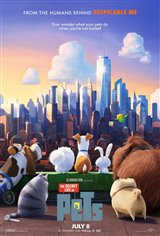 The Secret Life of Pets 3D Movie Poster