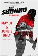 The Shining - 40th Anniversary 4K Remaster Movie Poster