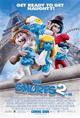 The Smurfs 2 Large Poster