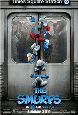 The Smurfs 3D Movie Poster