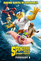The SpongeBob Movie: Sponge Out of Water Movie Poster Movie Poster