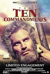 The Ten Commandments 65th Anniversary presented by TCM Large Poster