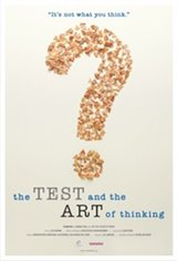 The Test & The Art of Thinking Large Poster