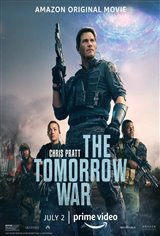 The Tomorrow War (Amazon Prime Video) Movie Poster
