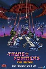 The Transformers: The Movie 35th Anniversary Affiche de film